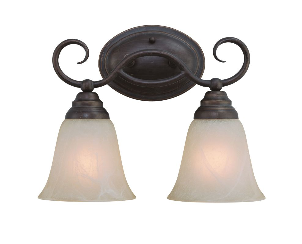 Jeremiah Lighting 25002 Cordova 2 Light Bathroom Vanity Light - 13.5