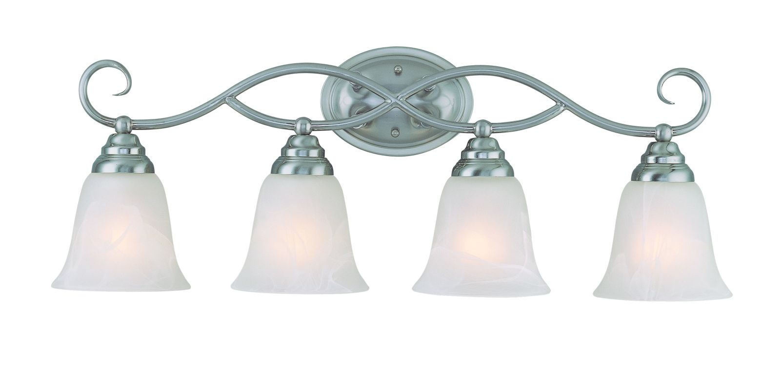 "Jeremiah Lighting 25004 Cordova 4 Light Bathroom Vanity Light - 28 Sale $129.00 ITEM: bci1554352 ID#:25004-SN UPC: 80629802421 Product Features: Finish: Old Bronze , Light Direction: Down Lighting , Width: 28"" , Height: 10"" , Bulb Type: Compact Fluorescent, Incandescent , Number of Bulbs: 4 , Fully covered under Jeremiah Lighting warranty , Location Rating: Indoor Use :"