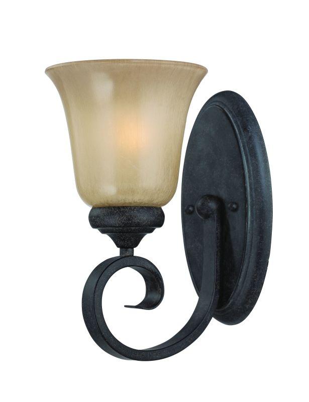 Jeremiah Lighting 25101 Stanton 1 Light Bathroom Wall Sconce - 6