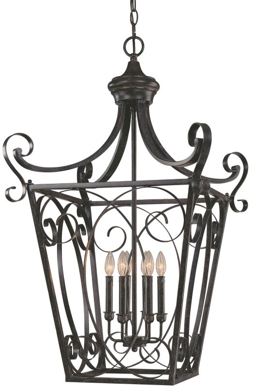 Jeremiah Lighting 25136 Stanton 6 Light Foyer Indoor Pendant - 32.2