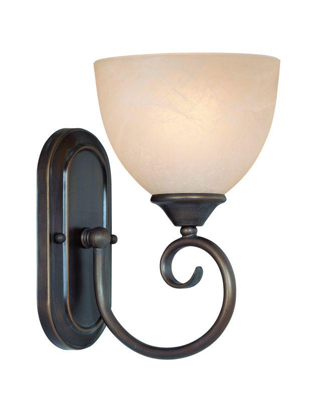 Jeremiah Lighting 25301 Raleigh 1 Light Bathroom Wall Sconce - 6.5