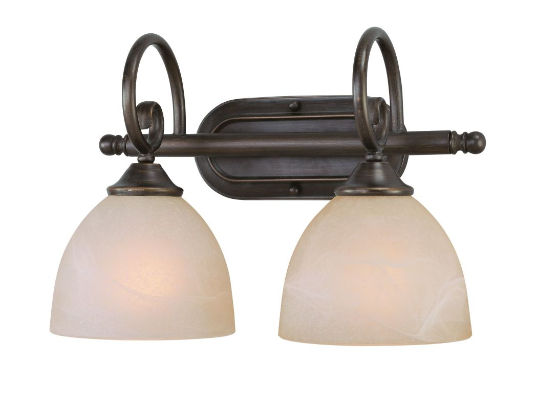 Jeremiah Lighting 25302 Raleigh 2 Light Bathroom Vanity Light - 15