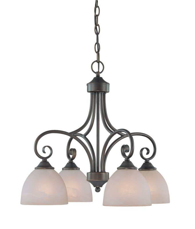 Jeremiah Lighting 25324 Raleigh Single Tier 4 Light Chandelier - 22.5 Sale $169.00 ITEM: bci1065173 ID#:25324-OB UPC: 80629802957 :