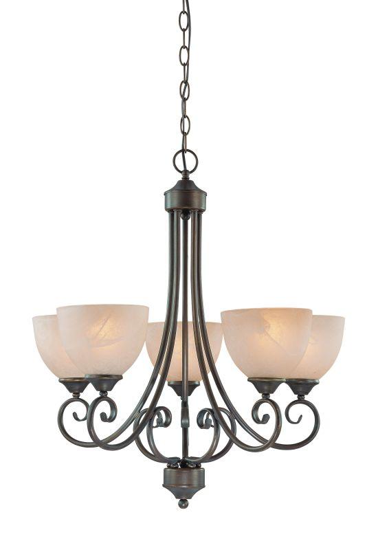 Jeremiah Lighting 25325 Raleigh Single Tier 5 Light Chandelier - 24 Sale $229.00 ITEM: bci1065175 ID#:25325-OB UPC: 80629802971 :