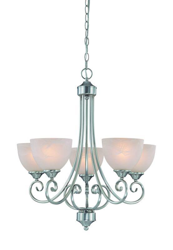 Jeremiah Lighting 25325 Raleigh Single Tier 5 Light Chandelier - 24 Sale $229.00 ITEM: bci1065176 ID#:25325-SN UPC: 80629802988 :