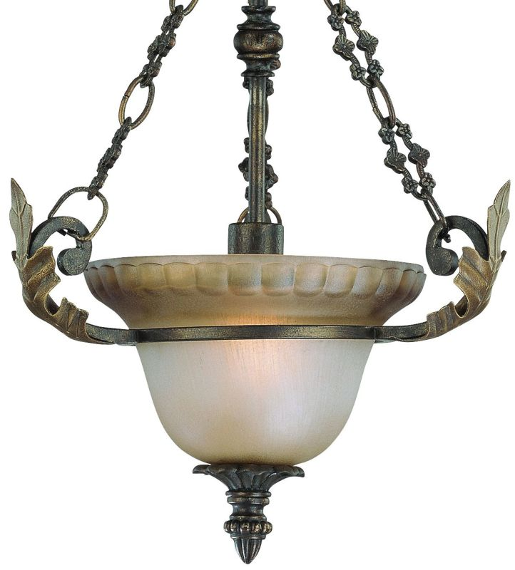 Jeremiah Lighting 25721 Devereaux 1 Light Urn Shaped Indoor Pendant -