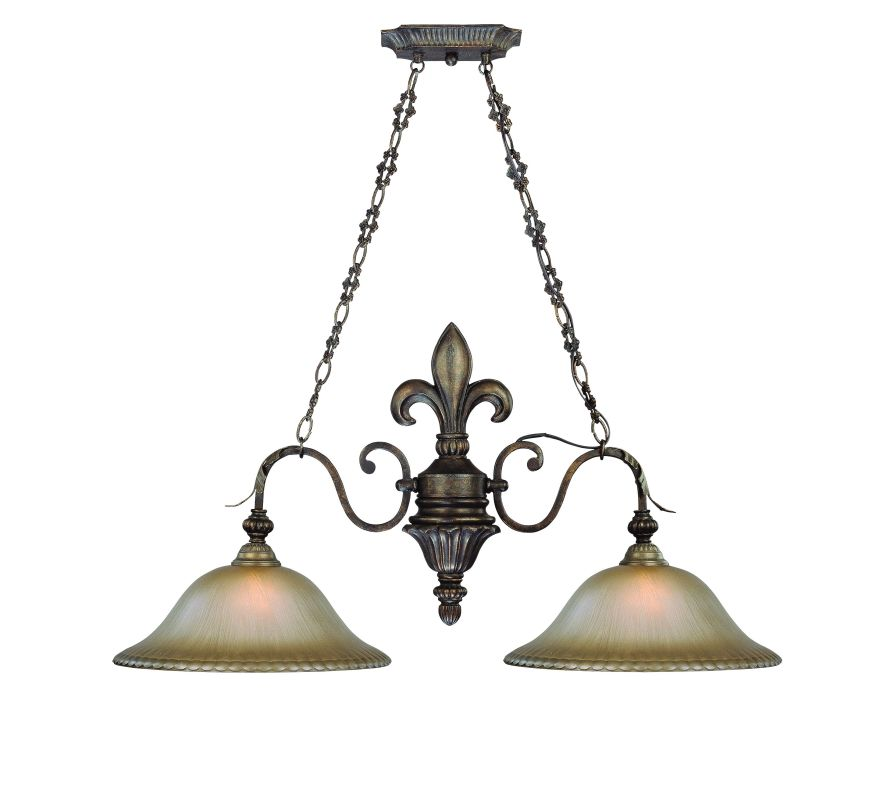 Jeremiah Lighting 25742 Devereaux Single Tier 2 Light Linear
