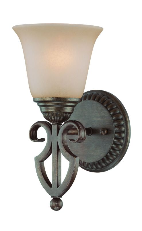 Jeremiah Lighting 26001 Gatewick 1 Light Indoor Wall Sconce - 6 Inches