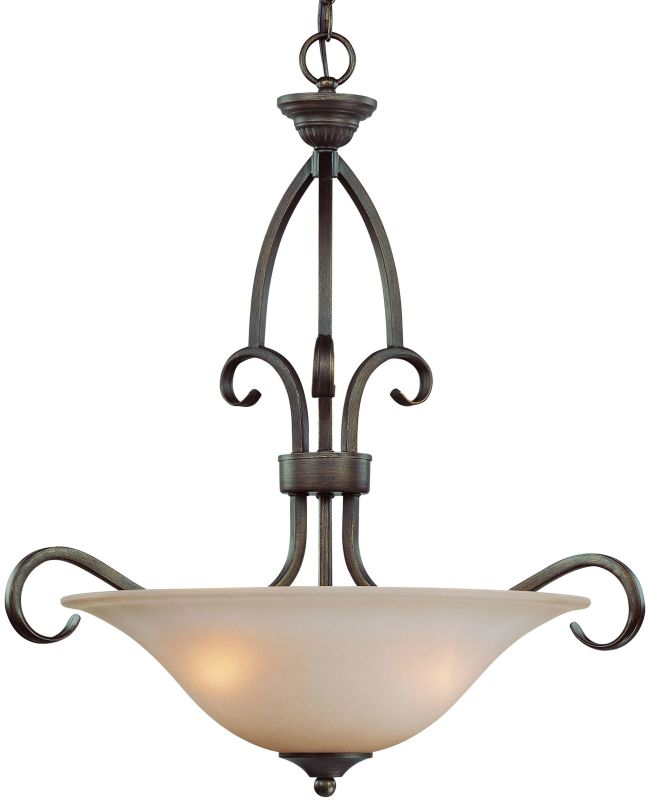 Jeremiah Lighting 26023 Gatewick 3 Light Bowl Shaped Indoor Pendant - Sale $209.00 ITEM: bci1554413 ID#:26023-CB UPC: 80629803800 :