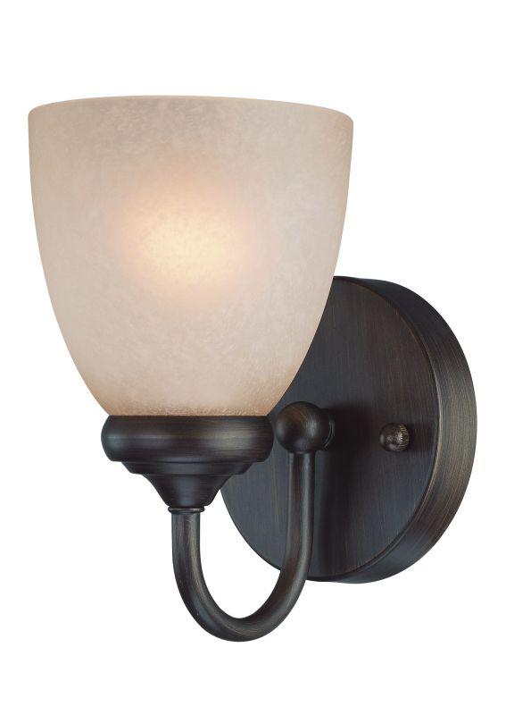 Jeremiah Lighting 26101 Spencer 1 Light Bathroom Wall Sconce - 5