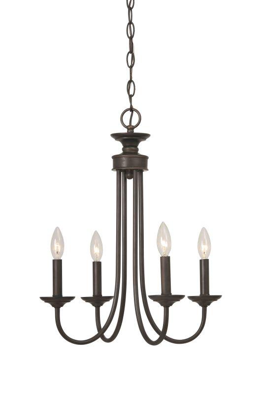 Jeremiah Lighting 26124 Spencer Single Tier 4 Light Candle Style