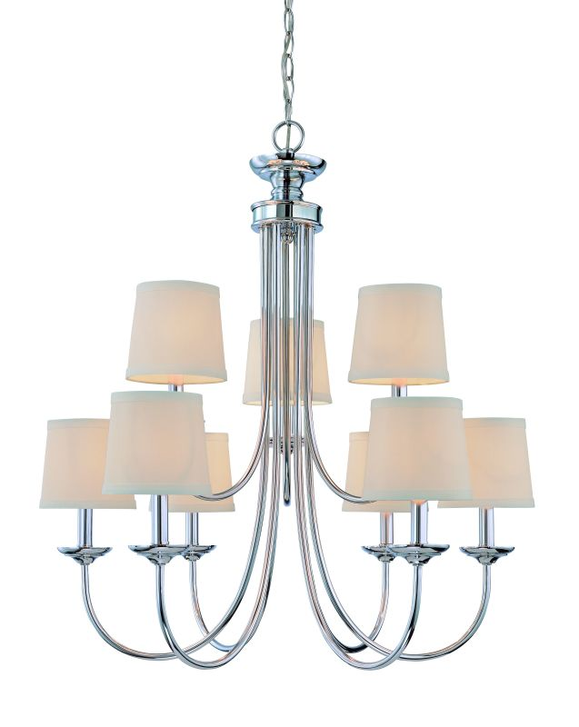 Jeremiah Lighting 26129 Spencer Two Tier 9 Light Candle Style