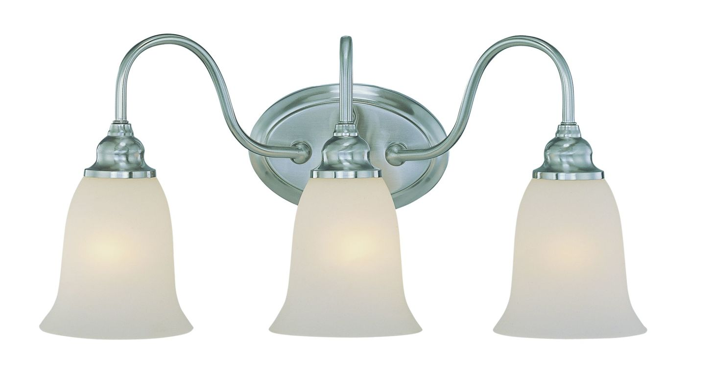 Jeremiah Lighting 26303 Linden Lane 3 Light Bathroom Vanity Light - 23 Sale $99.00 ITEM: bci1554442 ID#:26303-SN UPC: 80629804111 :