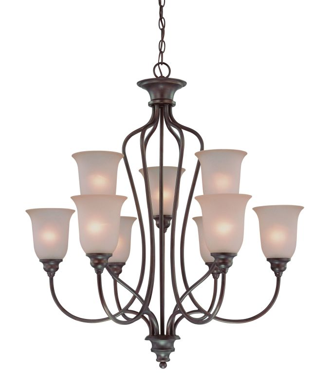 Jeremiah Lighting 26329 Linden Lane Two Tier 9 Light Chandelier - 31
