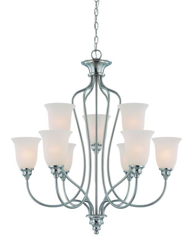 Jeremiah Lighting 26329 Linden Lane Two Tier 9 Light Chandelier - 31 Sale $379.00 ITEM: bci1554454 ID#:26329-SN UPC: 80629804234 :