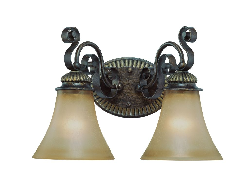Jeremiah Lighting 26502 Kingsley 2 Light Bathroom Vanity Light - 15