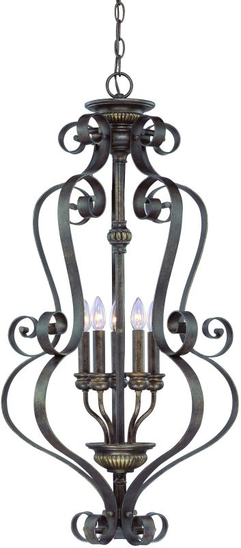 Jeremiah Lighting 26535 Kingsley 5 Light Lantern Indoor Pendant - 18.5