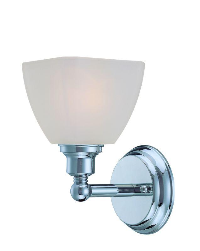 Jeremiah Lighting 26601 Bradley 1 Light Bathroom Wall Sconce - 5.375