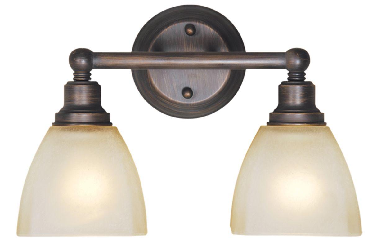 Jeremiah Vanity Lights : Jeremiah Lighting 26602-BZ Bronze Bradley 2 Light Bathroom Vanity Light - 14.55 Inches Wide ...