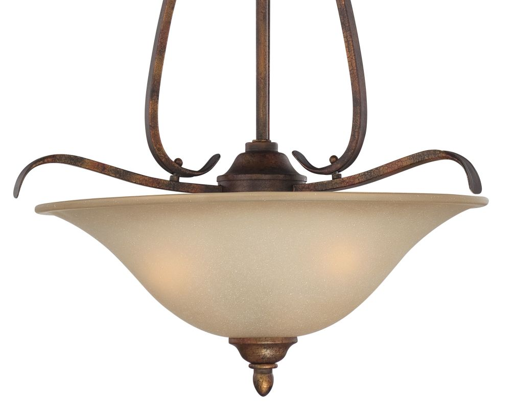 Jeremiah Lighting 29043 Mckinney 1 Light Bowl Shaped Indoor Pendant - Sale $199.00 ITEM: bci2213820 ID#:29043-BBZ UPC: 80629807334 :