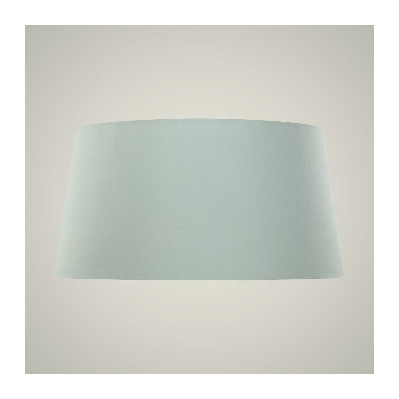 Jeremiah Lighting SH-20 Fabric 20 Inch Mini Drum Shade Ice Blue