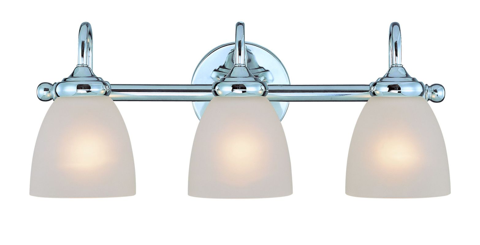 Jeremiah Lighting 26103 Spencer 3 Light Bathroom Vanity Light - 20 Sale $109.00 ITEM: bci1554423 ID#:26103-CH UPC: 80629803916 :