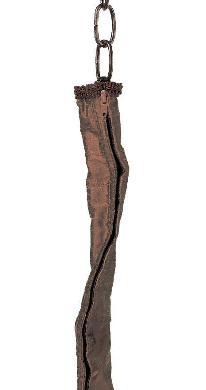 Jeremiah Lighting CC07 6 Foot Bronze Zipper Cord Cover Bronze