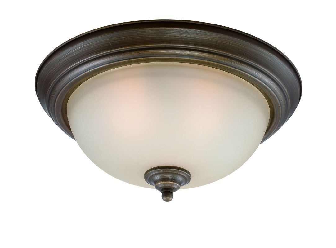 Jeremiah Lighting 20015 3 Light Flush Mount Ceiling Fixture English Sale $42.00 ITEM: bci2213678 ID#:20015-ET UPC: 80629800571 :