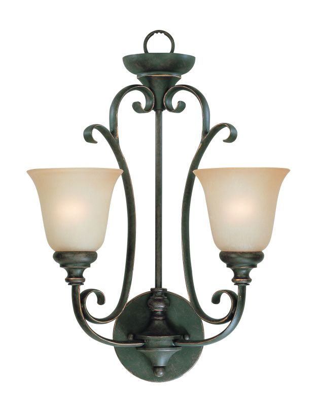 Jeremiah Lighting 24222-MB Mocha Bronze Barrett Place 2 Light Indoor Wall Sconce - 16 Inches ...