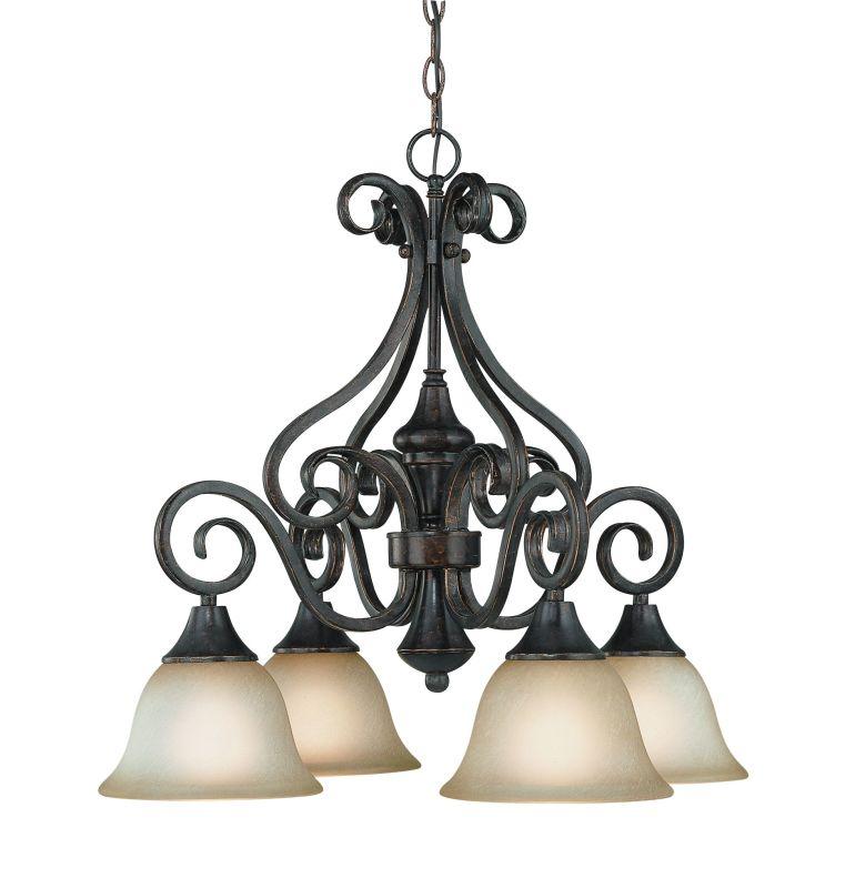 Jeremiah Lighting 24924 Torrey Single Tier 6 Light Chandelier - 24.5 Sale $279.00 ITEM: bci1065128 ID#:24924-BA UPC: 80629802308 :