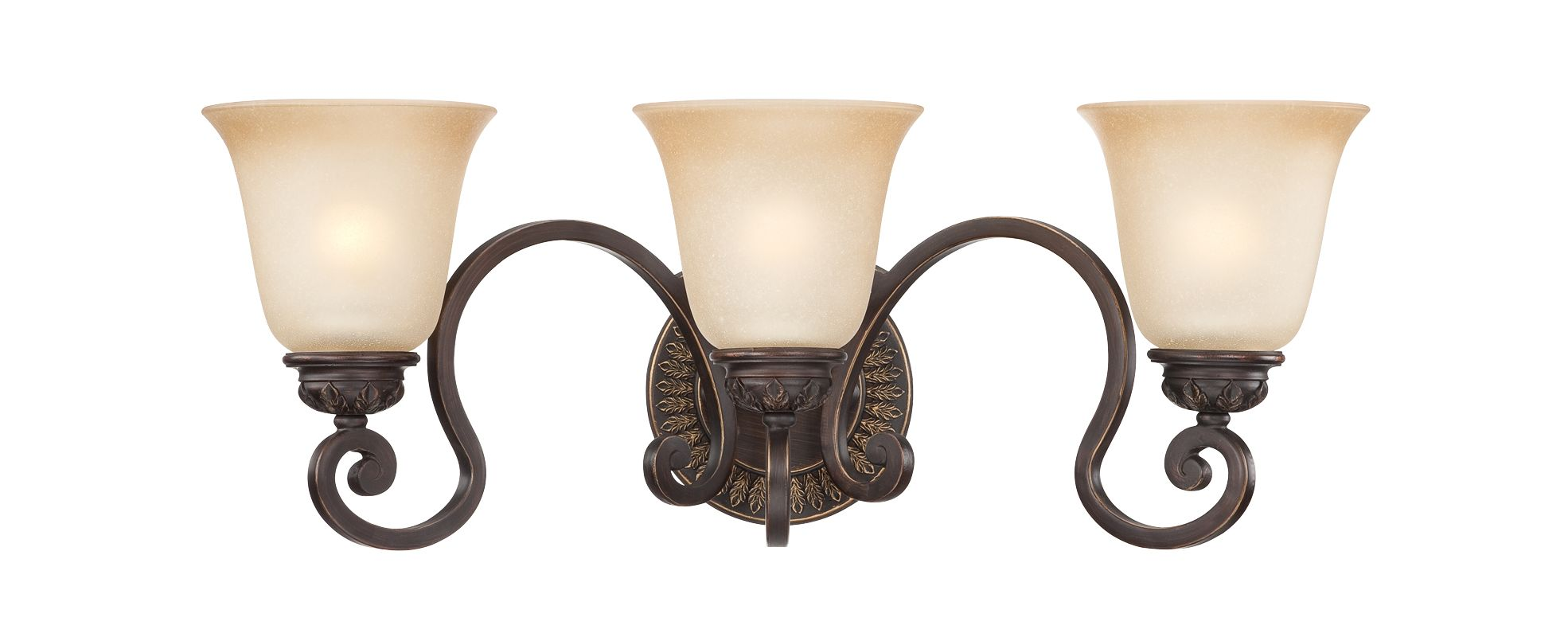 Jeremiah Lighting 28203 Josephine 3 Light Bathroom Vanity Light -