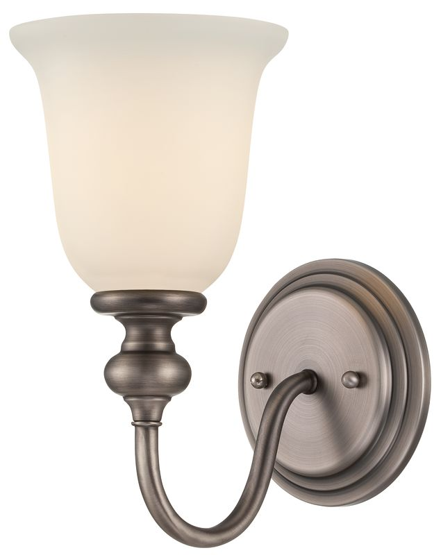 Jeremiah Lighting 28501 Willow Park 1 Light Indoor Wall Sconce - 8.87