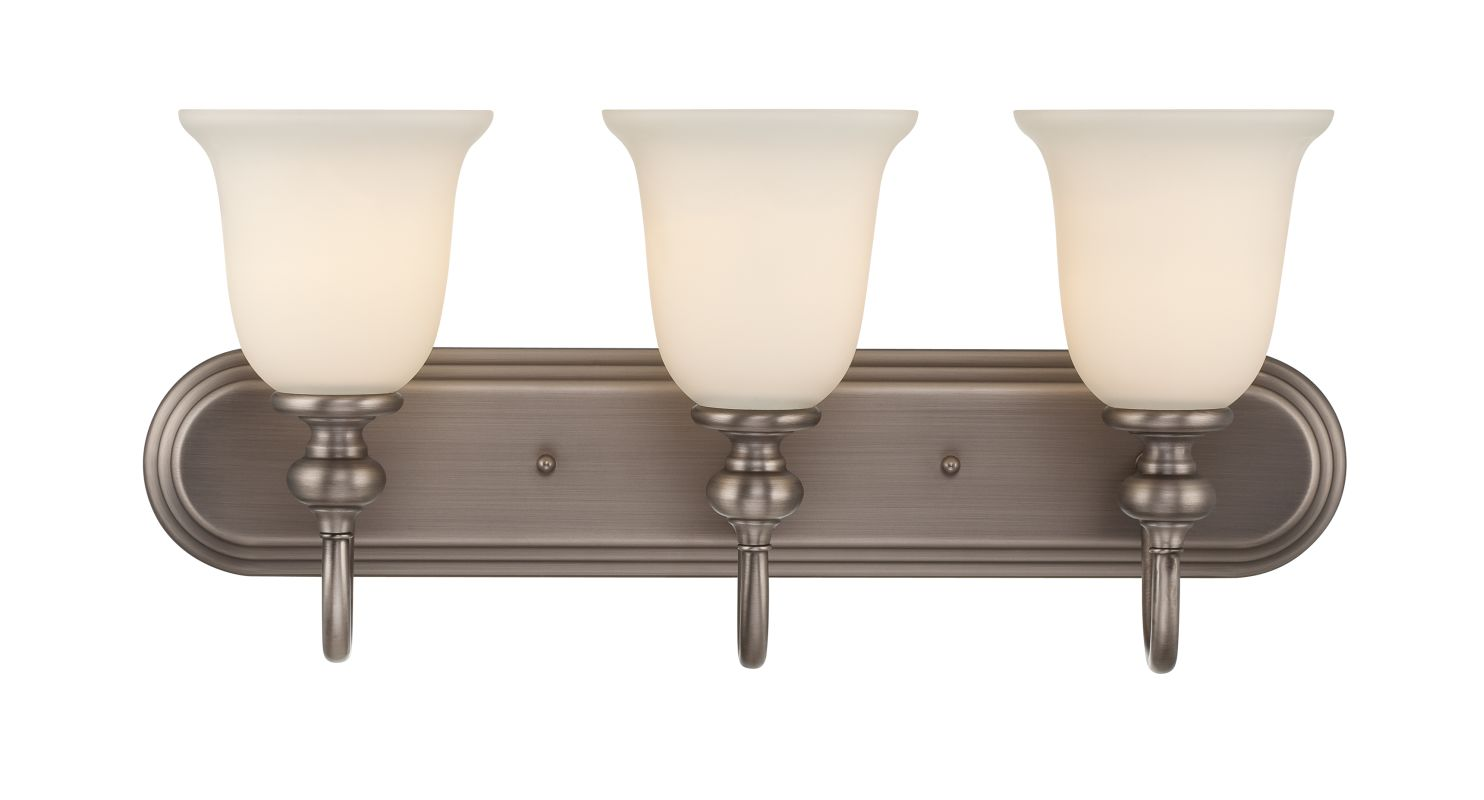 Jeremiah Lighting 28503 Willow Park 3 Light Bathroom Vanity Light - 24