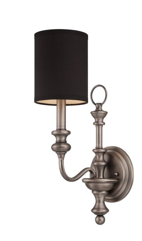Jeremiah Lighting 28561 Willow Park 1 Light Indoor Wall Sconce - 5.5