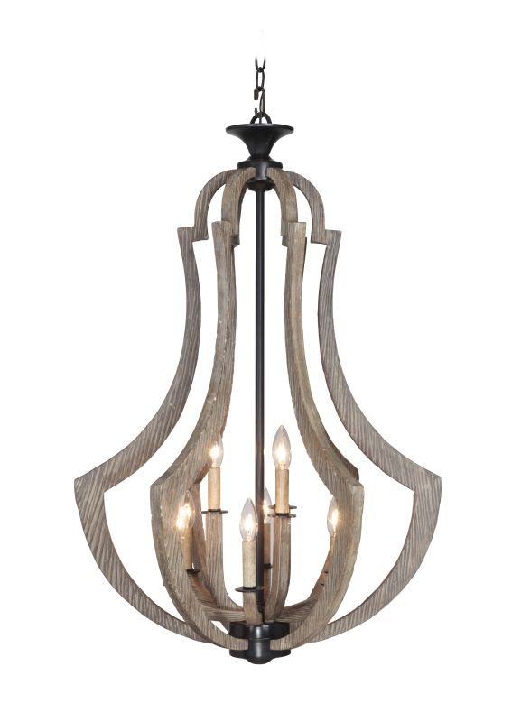 Jeremiah Lighting 35139 Winton 9 Light Foyer Indoor Pendant - 24