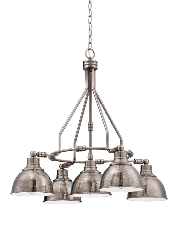 Jeremiah Lighting 35925 Timarron Single Tier 5 Light Chandelier - 29.5