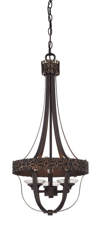 Jeremiah Lighting 36333 Amsden 3 Light Foyer Indoor Pendant - 14