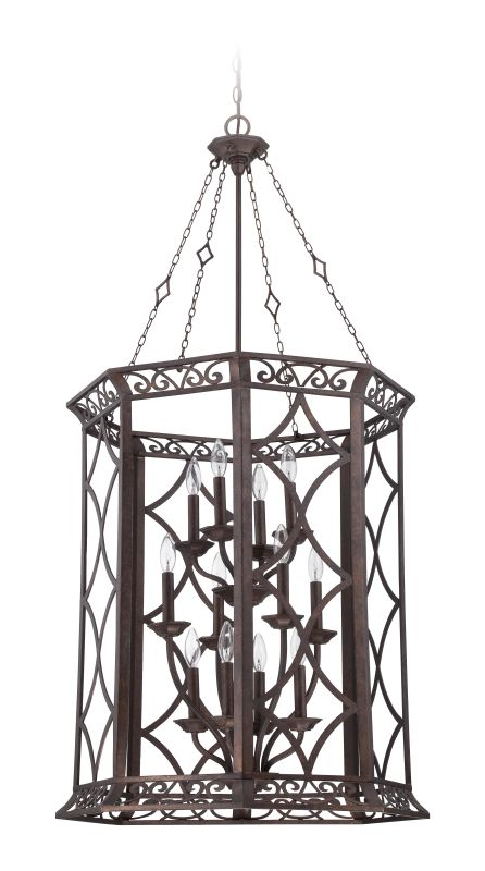 Jeremiah Lighting 36432 Evangeline 12 Light Foyer Indoor Pendant -