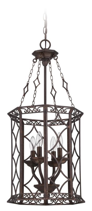 Jeremiah Lighting 36434 Evangeline 4 Light Foyer Indoor Pendant -