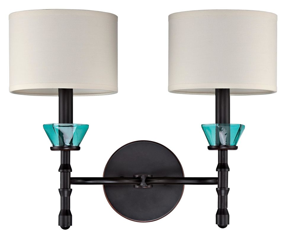Jeremiah Lighting 36662 Emory 2 Light Indoor Wall Sconce - 16 Inches Sale $46.00 ITEM: bci2404250 ID#:36662-RW UPC: 647881126513 :
