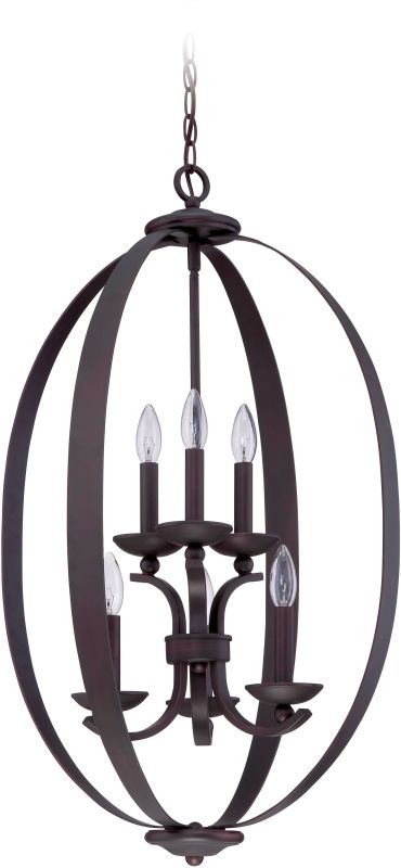 Jeremiah Lighting 37036 Ensley 6 Light Mini Chandelier - 20 Inches