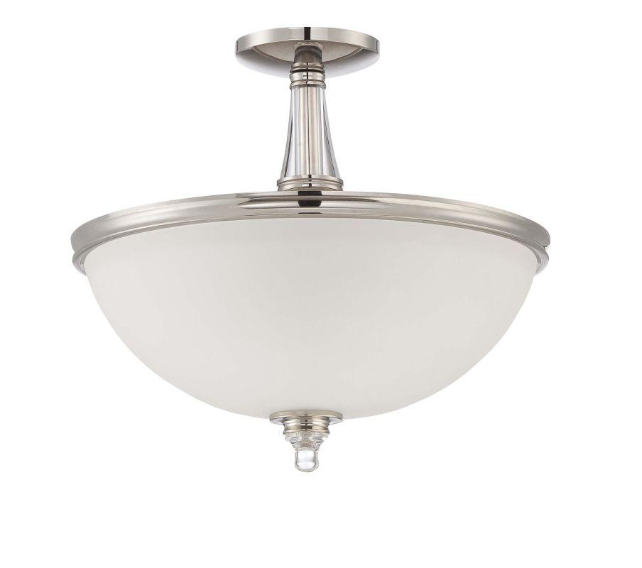 Jeremiah Lighting 37453 Laurent 3 Light Convertible Semi-Flush Ceiling
