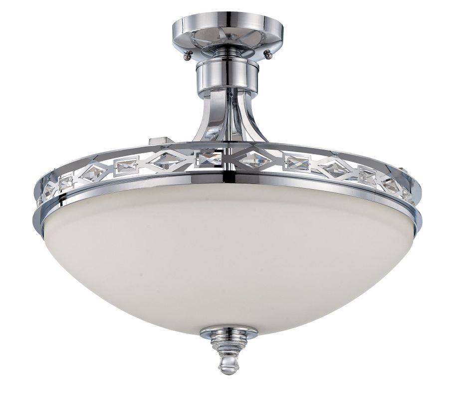 Jeremiah Lighting 37543 Saratoga 3 Light Bowl Shaped Indoor Pendant -