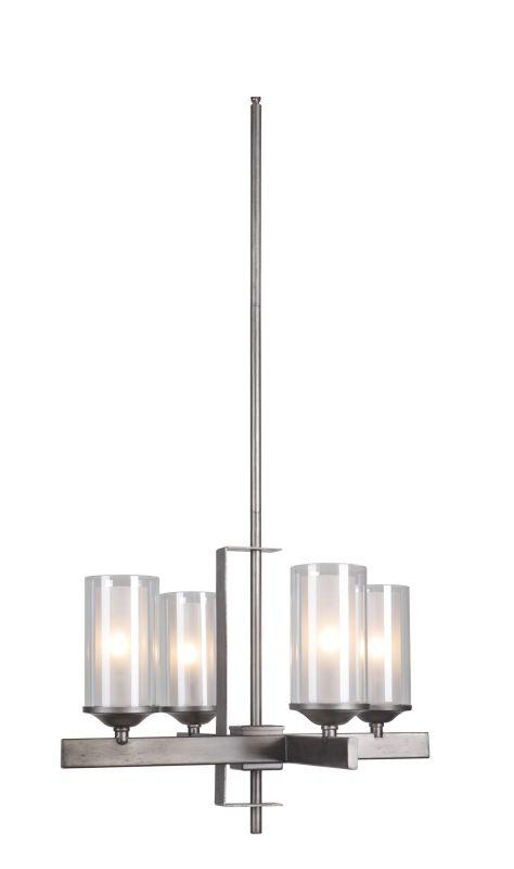 Jeremiah Lighting 39324 Mod 4 Light Chandelier - 22 Inches Wide Sale $399.00 ITEM: bci2679662 ID#:39324-NIVNI UPC: 647881144227 :