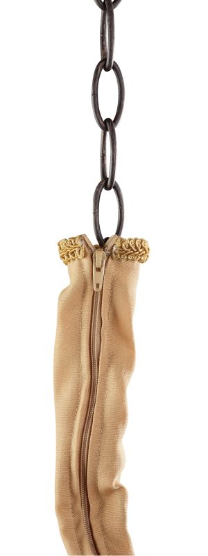 Jeremiah Lighting CC19 6 Foot Curry Zipper Cord Cover Curry Accessory