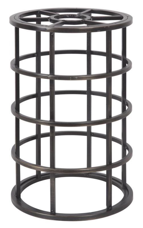 "Jeremiah Lighting CG100 8.8"" x 5.9"" Mini Cylinder Pendant Cage for"