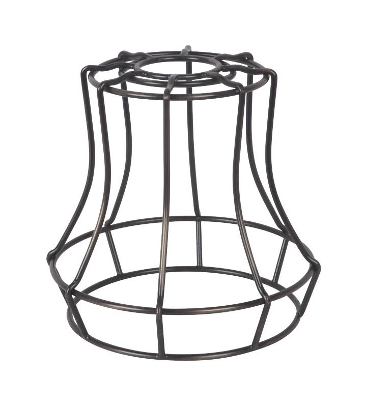 "Jeremiah Lighting CG110 5.7"" x 5.6"" Mini Bell Pendant Cage for Medium"
