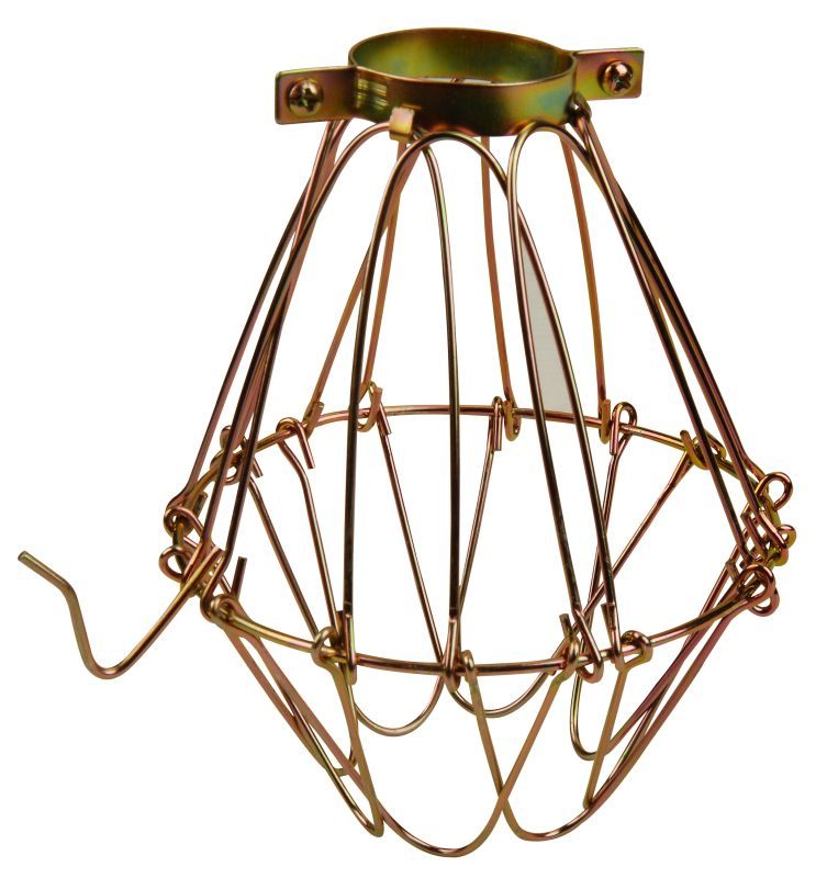 Jeremiah Lighting K-WG A-19 Metal Wire Guard Brass Accessory Wire