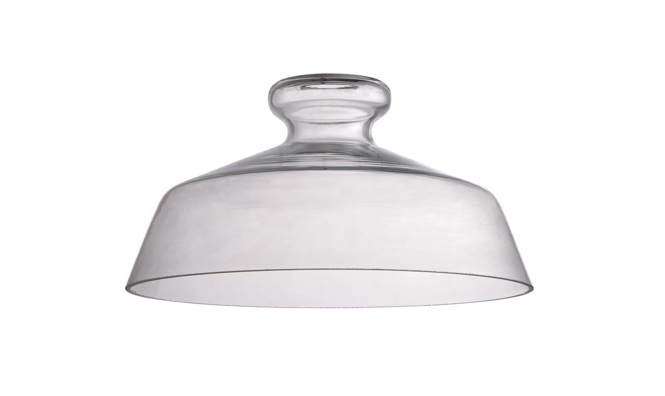 "Jeremiah Lighting N554 6.3"" x 12"" Dome Glass Pendant Shade for Medium"