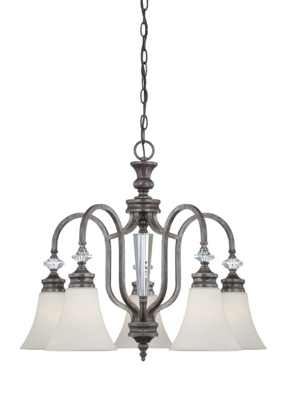 Jeremiah Lighting 26725 Boulevard Single Tier 5 Light Chandelier -